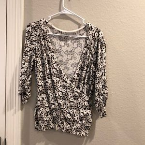 Ruched New York & Company Blouse